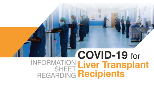 COVID- 19 FOR LIVER TRANSPLANT RECIPIENTS